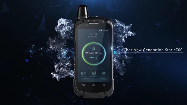 eChat E700 internetalapú adóvevő