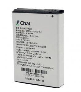 PoC Li-Ion 4000mAh akkumulátor eChat E700 adóvevőhöz (Cikkszám: AB380)