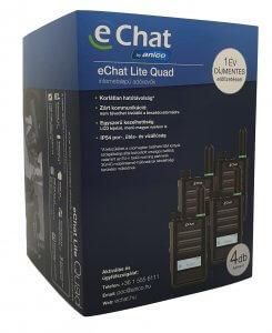 eChat Lite Quad E350 adóvevőcsomag