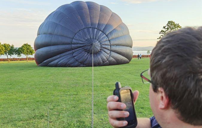 eChat E700 PoC Internetalapú adóvevő és hőlégballon