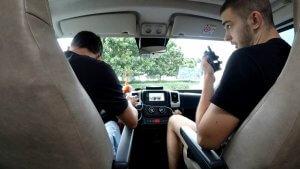 Kenji csapat a motorépítő versenyre - eChat E350 adóvevővel
