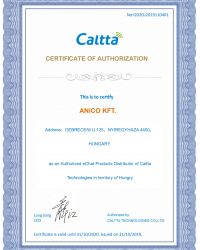 Anico Caltta certification